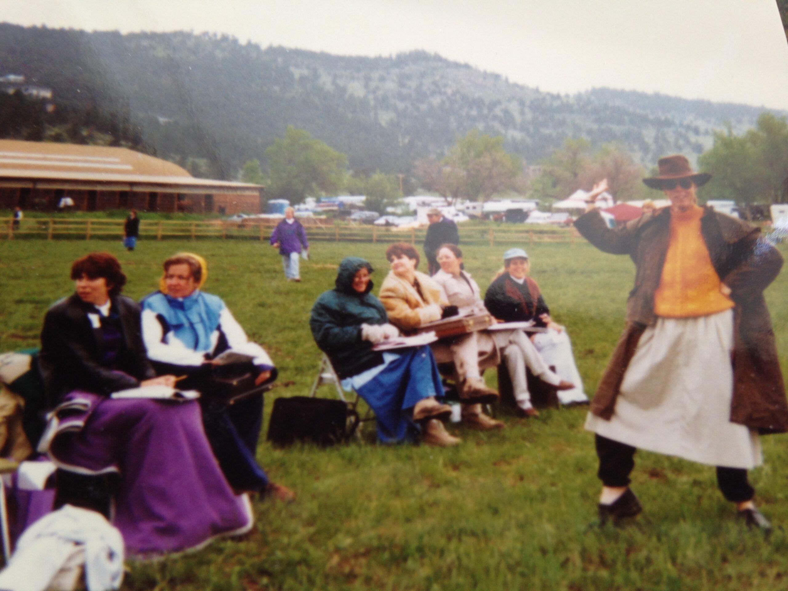Old Dressage Judges (5)